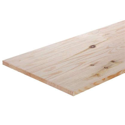 Мебельный щит 1600х400х18 мм хвоя сорт В