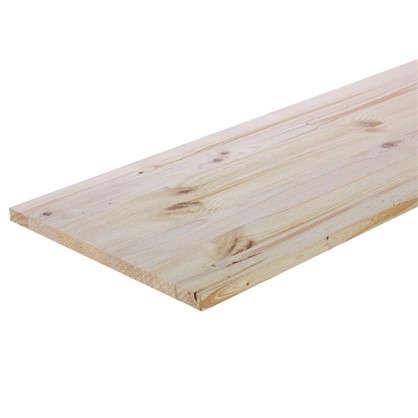 Мебельный щит 2500х300х18 мм хвоя сорт A/B