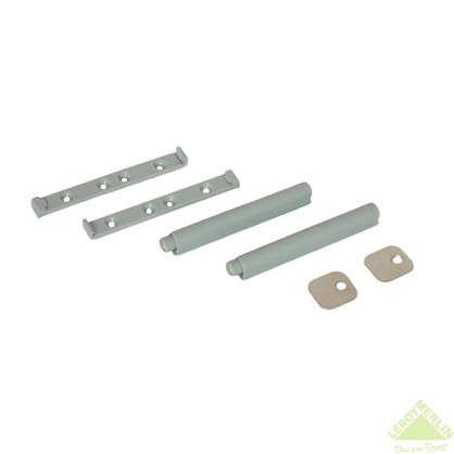 Купить Механизм накладной Impuls 80х12 мм пластик цвет серый 2 шт. дешевле