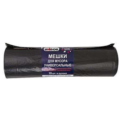 Мешки для мусора 220 л цвет черный 10 шт.