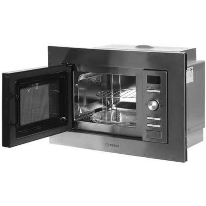 Микроволновая печь встраиваемая Indesit MWI 122.2 X цвет нержавеющая сталь
