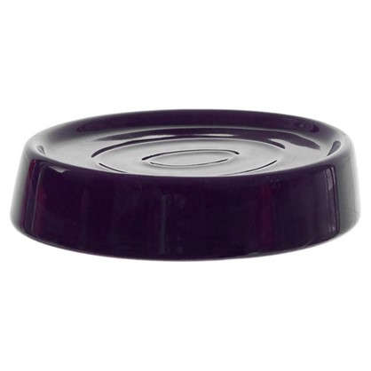 Мыльница настольная Veta керамика цвет фиолетовый
