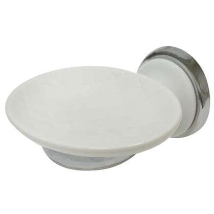 Купить Мыльница подвесная Aster керамика цвет белый дешевле