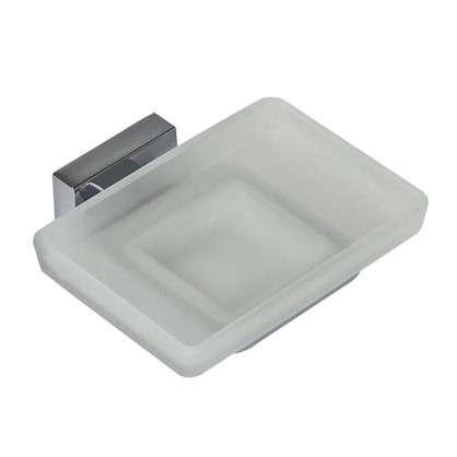 Купить Мыльница подвесная Bath Plus Bruklin стекло цвет хром недорого