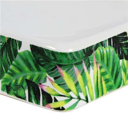 Мыльница Tropic керамика цвет зеленый