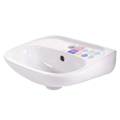 Мини-Раковина для ванной Cersanit Market 40 см керамика цвет белый