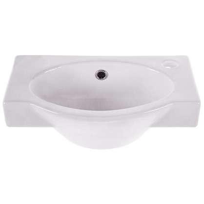 Купить Мини-Раковина для ванной Santek Форум 45 см цвет белый дешевле