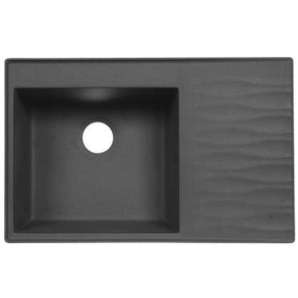 Мойка FOSTO FG 80х51 см глубина 19 см цвет бетон
