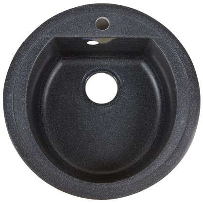 Мойка Granfest Rondo GF-R 50 см цвет черный