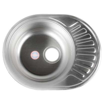 Мойка врезная 57х45 см цвет хром нержавеющая сталь