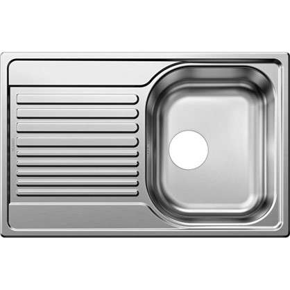 Мойка врезная Blanco Tipo 45s compact 78х50 см нержвеющая сталь цвет матовая сталь