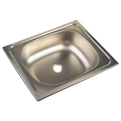 Мойка врезная Classic 50х40 см цвет хром нержавеющая сталь