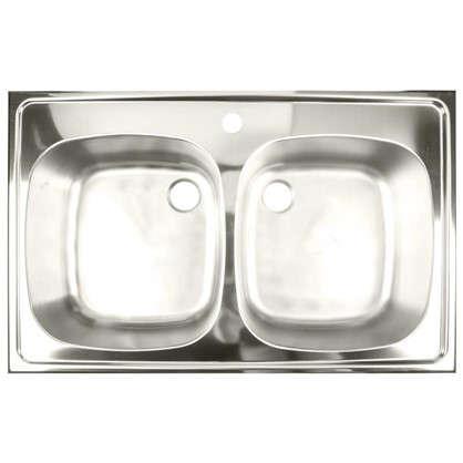 Купить Мойка врезная Franke ETX 620-50 78х50 см цвет матовый хром нержавеющая сталь дешевле