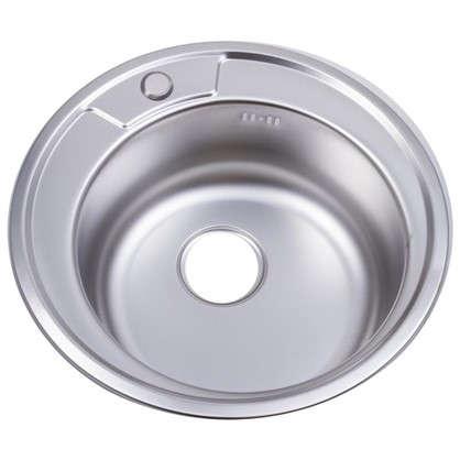Купить Мойка врезная Maidsink Kiba 49 см цвет хром нержавеющая сталь дешевле