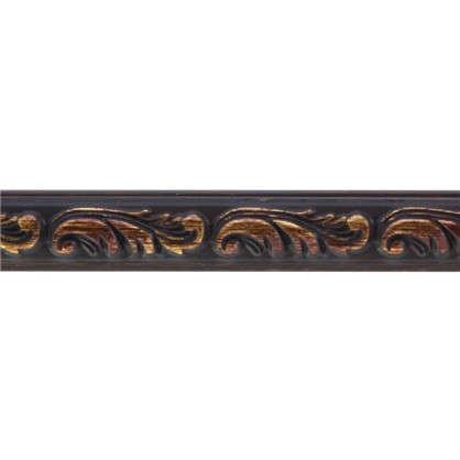 Купить Молдинг настенный 130-966 интерьерный 200х1.5 см цвет коричневый дешевле