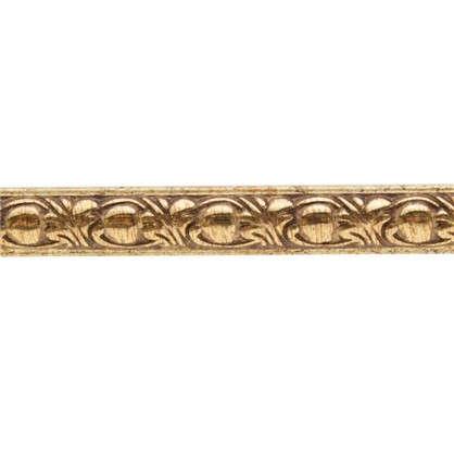 Купить Молдинг настенный 130C-58 интерьерный 200х1.5 см цвет золотой дешевле