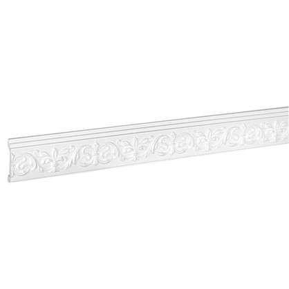 Купить Молдинг настенный C846/85 200 см цвет белый дешевле