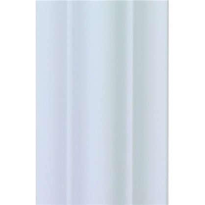 Молдинг настенный  Decomaster 97010 40х18х2000 мм цвет белый