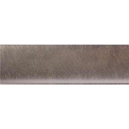 Купить Молдинг настенный Decomaster D045-373 50х8х2000 мм цвет серебристый дешевле
