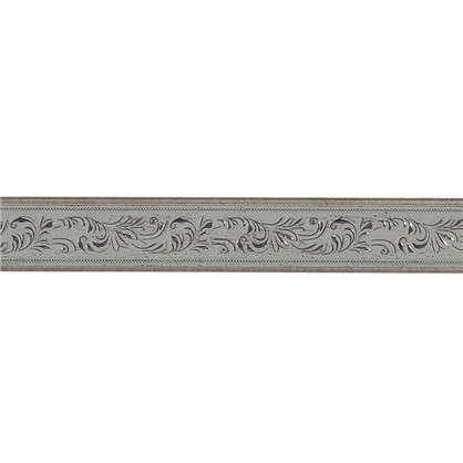 Купить Молдинг настенный интерьерный 2 м 50х11 см цвет серебристый дешевле
