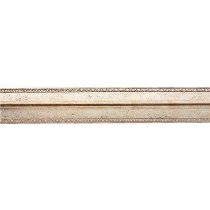 Купить Молдинг настенный угловой 116-127 200х3 см цвет золотой дешевле