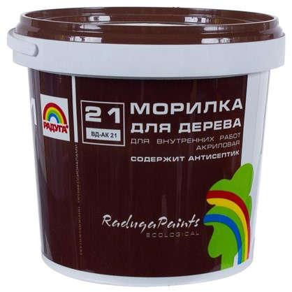 Морилка для дерева акриловая цвета дуб Радуга-21 ВДАК 1 кг