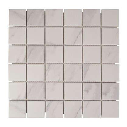 Мозаика Artens 30.4х30.4 см цвет белый