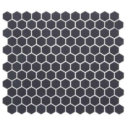 Мозаика Artens 30х26 см керамика чёрный