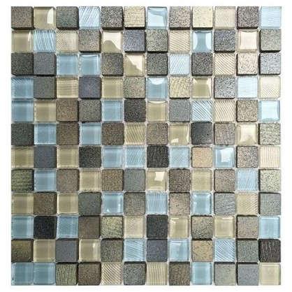 Мозаика Artens Fsn 30х30 см стекло цвет голубой