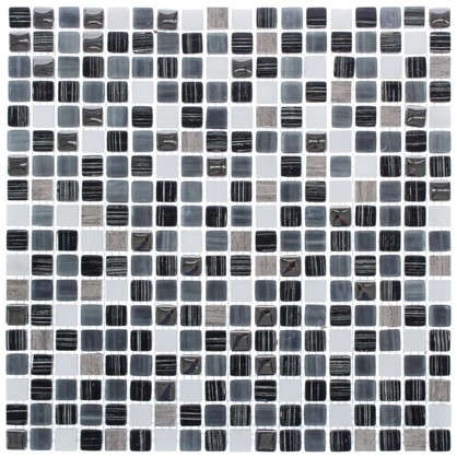Мозаика Artens Fsn 30х30 см стекло цвет серый