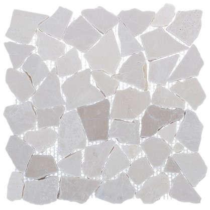 Мозаика Artens Opus 30.5х30.5 см мраморная цвет кремовый
