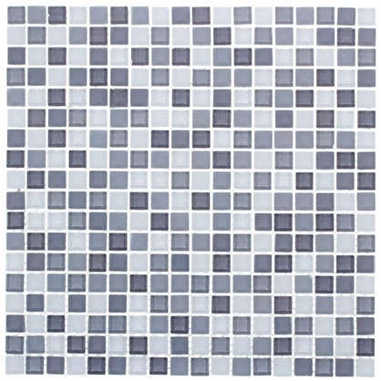 Мозаика Artens Tonic 30х30 см стекло цвет серый