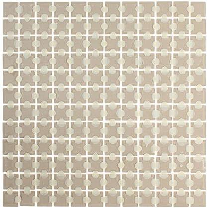 Мозаика Вяз 29.8х29.8 см цвет бежевый
