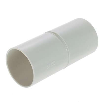 Муфта для труб соединительная Экопласт D50 мм 1 шт.