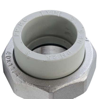 Купить Муфта Fv-Plast наружная резьба d 40х 1 1/4 мм полипропилен дешевле