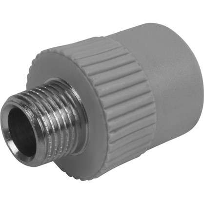 Муфта комбинированная FV-Plast -Plast наружная резьба 25х1/2 полипропилен