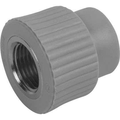 Купить Муфта комбинированная FV-Plast -Plast внутренняя резьба 20х1/2 полипропилен дешевле