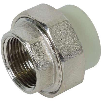 Купить Муфта комбинированная FV-Plast разъемная внутренняя резьба 32 мм х 1 полипропилен дешевле