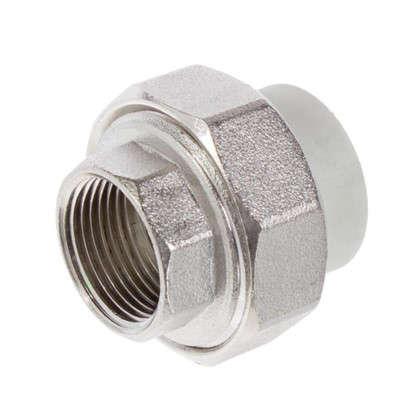 Муфта комбинированная FV-Plast внутренняя резьба 25х3/4 мм полипропилен