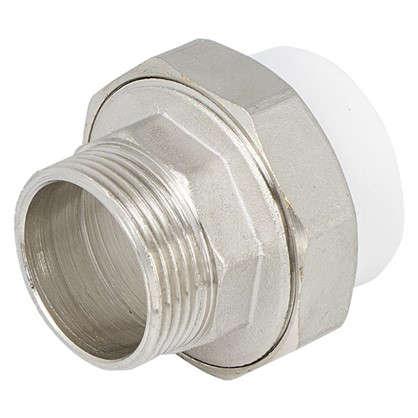 Муфта комбинированная разъемная наружная резьба 40х1 1/4 ммполипропилен