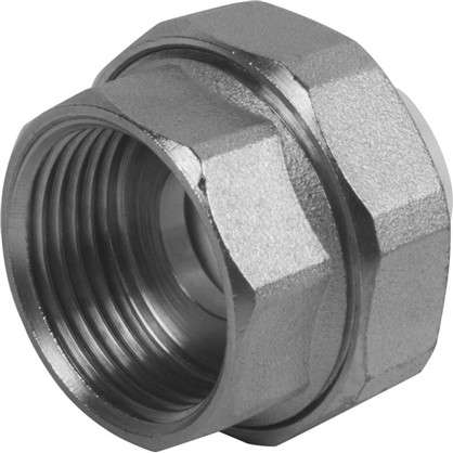 Муфта комбинированная разъемная внутренняя резьба 20х1 мм полипропилен