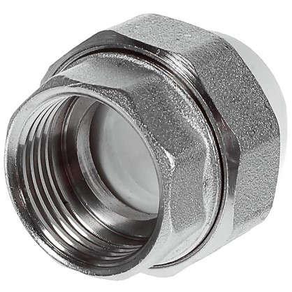 Купить Муфта комбинированная разъемная внутренняя резьба 20х3/4 мм полипропилен дешевле