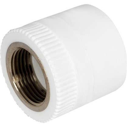 Муфта комбинированная внутренняя резьба 40 мм х 1 полипропилен