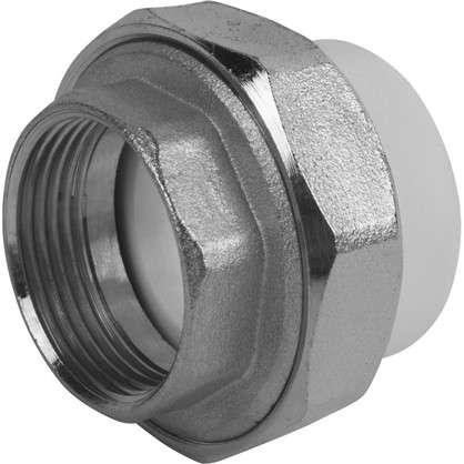 Муфта комбинированная внутренняя резьба 40х1 1/4 мм полипропилен