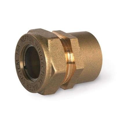 Муфта Neptun IWS обжимная внутренняя резьба 15х1/2 мм