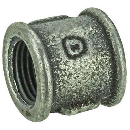 Муфта оцинкованная внутренняя резьба 1/2 мм чугун