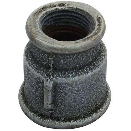 Муфта переходная оцинкованная внутренняя резьба 3/4х1/2 мм чугун