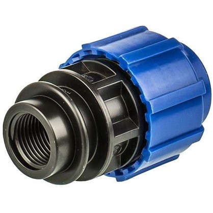 Купить Муфта переходная ТПК-Аква внутренняя резьба 25х1/2 мм полиэтилен дешевле