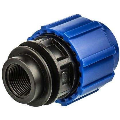 Купить Муфта переходная ТПК-Аква внутренняя резьба 32х3/4 мм полиэтилен дешевле
