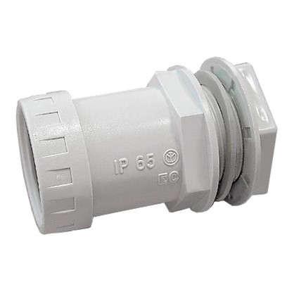 Муфта труба-коробка Экопласт BS25 D25 мм 10 шт.